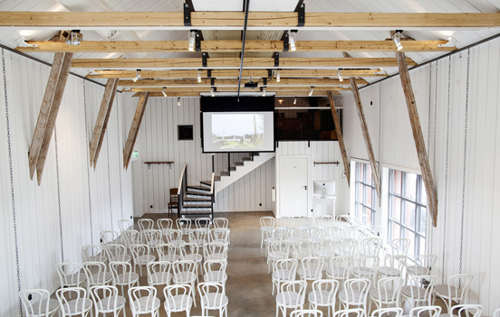 Studio Stora Holm. Mångsidig mötesplats. Dagskonferens Göteborg.